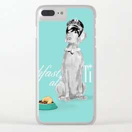 BREAKFAST AT TIFFANY'S WEIM Clear iPhone Case