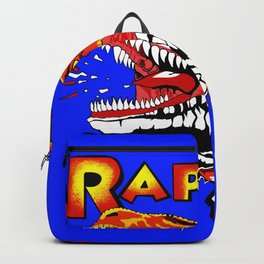 Raptor Dinosaur Ghost World Enid Shirt Digitally Re created Backpack