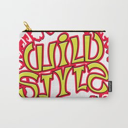 """WILD STYLE"" Mirror image ambigram Carry-All Pouch"