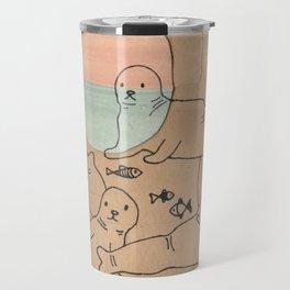 Seals Travel Mug