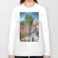 western Long Sleeve T-shirts featuring Western Yard by Christine Workman