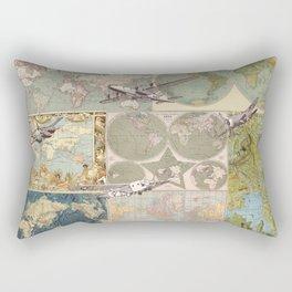 Flight Patterns Rectangular Pillow