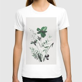 Green Flowers T-shirt