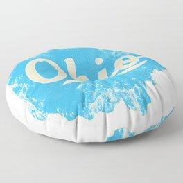 Ohio Gift I Love My Ohio Home Cleveland Cincinnati Akron OH Floor Pillow