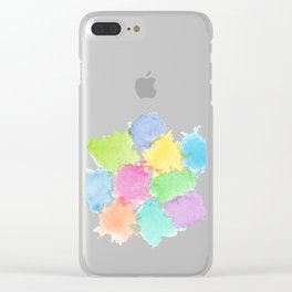 Happy Spots Clear iPhone Case