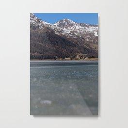 Crap da Sass, Switzerland Metal Print