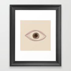 I feel real Framed Art Print