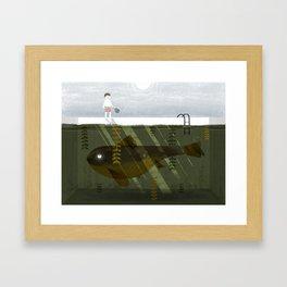 Big Fish Framed Art Print