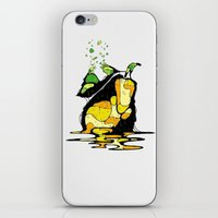 pear iPhone & iPod Skins featuring PEAR by maivisto