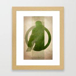 Avengers Assembled: The Beast Framed Art Print
