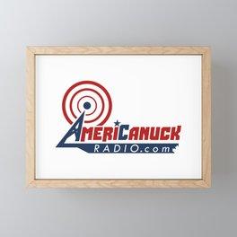 AmeriCanuckRadio.com Logo - Large Framed Mini Art Print