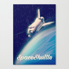 The Space Shuttle Canvas Print