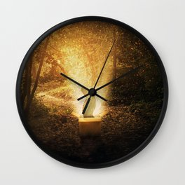 the parcel from paradise Wall Clock