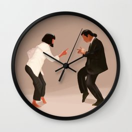 Pulp Fiction Twist Wall Clock