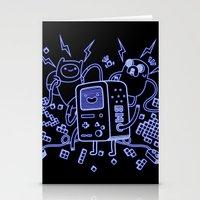 bmo Stationery Cards featuring BMO by Daniel Delgado