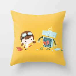 As you are Throw Pillow