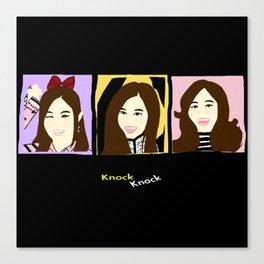 Knock Knock! Tzuyu Version Canvas Print