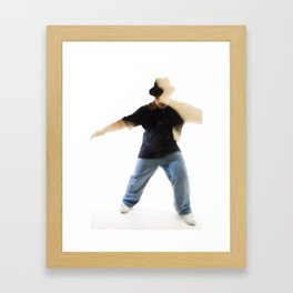 dancer #1 Framed Art Print
