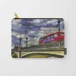 Battersea Bridge London Van Gogh Carry-All Pouch