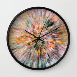 Zoomed Rowan Wall Clock