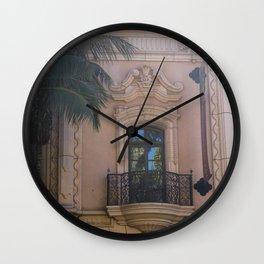 Balboa Park Reflection Wall Clock