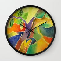 dr seuss Wall Clocks featuring Dr. Seuss Dreams by Lisa Beynon