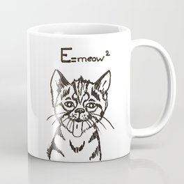 E=meow² Coffee Mug