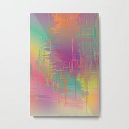 Rainbow Storm Metal Print