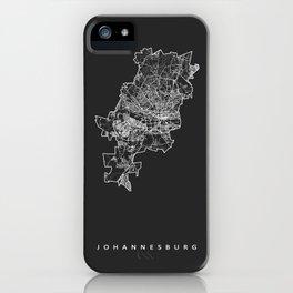 JOHANNESBURG iPhone Case