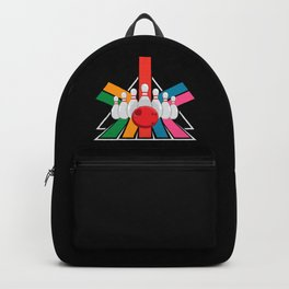 Vintage Bowling Backpack