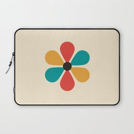 Mid Century Flower Laptop Sleeve