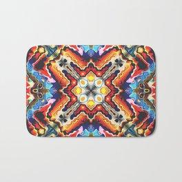 Colorful Tribal Motif Bath Mat