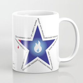Remember your Veteran with an honor Star. Coffee Mug