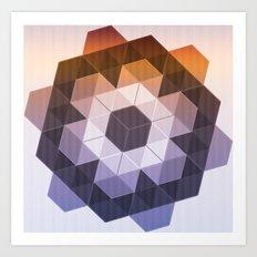 Patchwork Tiles II Art Print