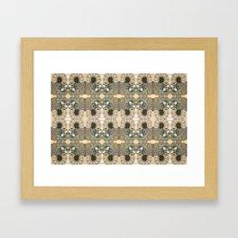 COSMOS HEAD SPIN Framed Art Print