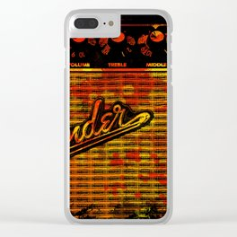Power of Music Clear iPhone Case