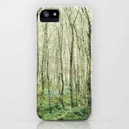 Glendalough Forest iPhone Case