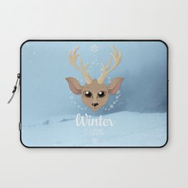 Snow Deer Laptop Sleeve