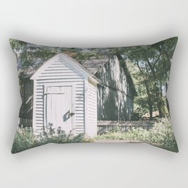 Shed Out Back Rectangular Pillow