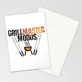 Grill Master Modus Stationery Cards