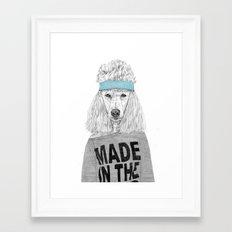 80's bitch Framed Art Print