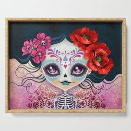 Amelia Calavera - Sugar Skull Serving Tray