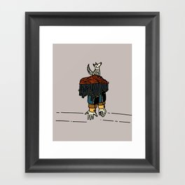 Thy beguiling army Framed Art Print