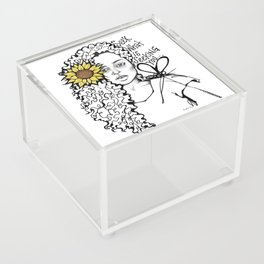 #STUKGIRL QUEEN Acrylic Box