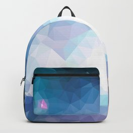 Galaxy low poly Backpack