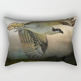 Osprey Soaring Rectangular Pillow