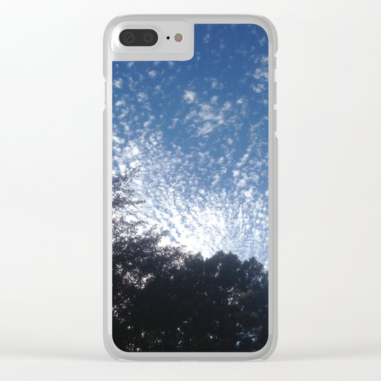 Cloud's firework Clear iPhone Case