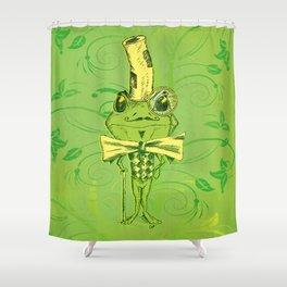 Je suis Monsieur Grenouille Shower Curtain