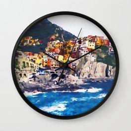Amalfi, Italy Wall Clock