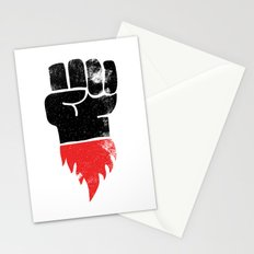 Resist Fist Stationery Cards